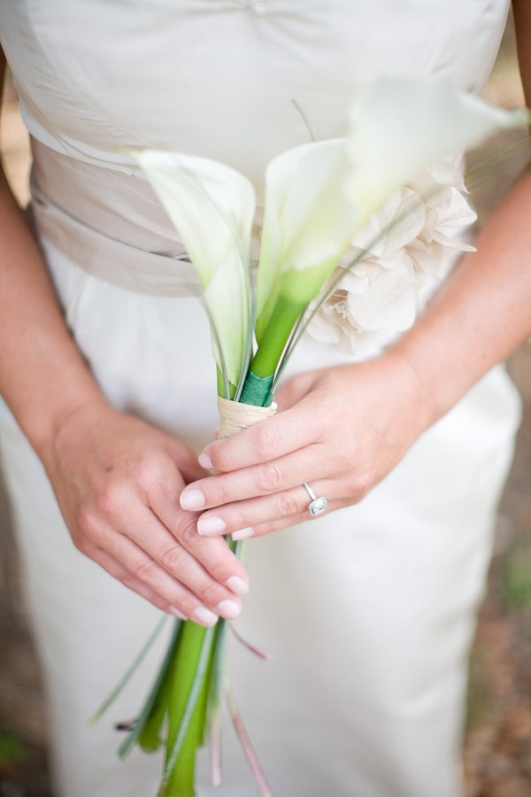 Bridal Bouquets The Simple Side