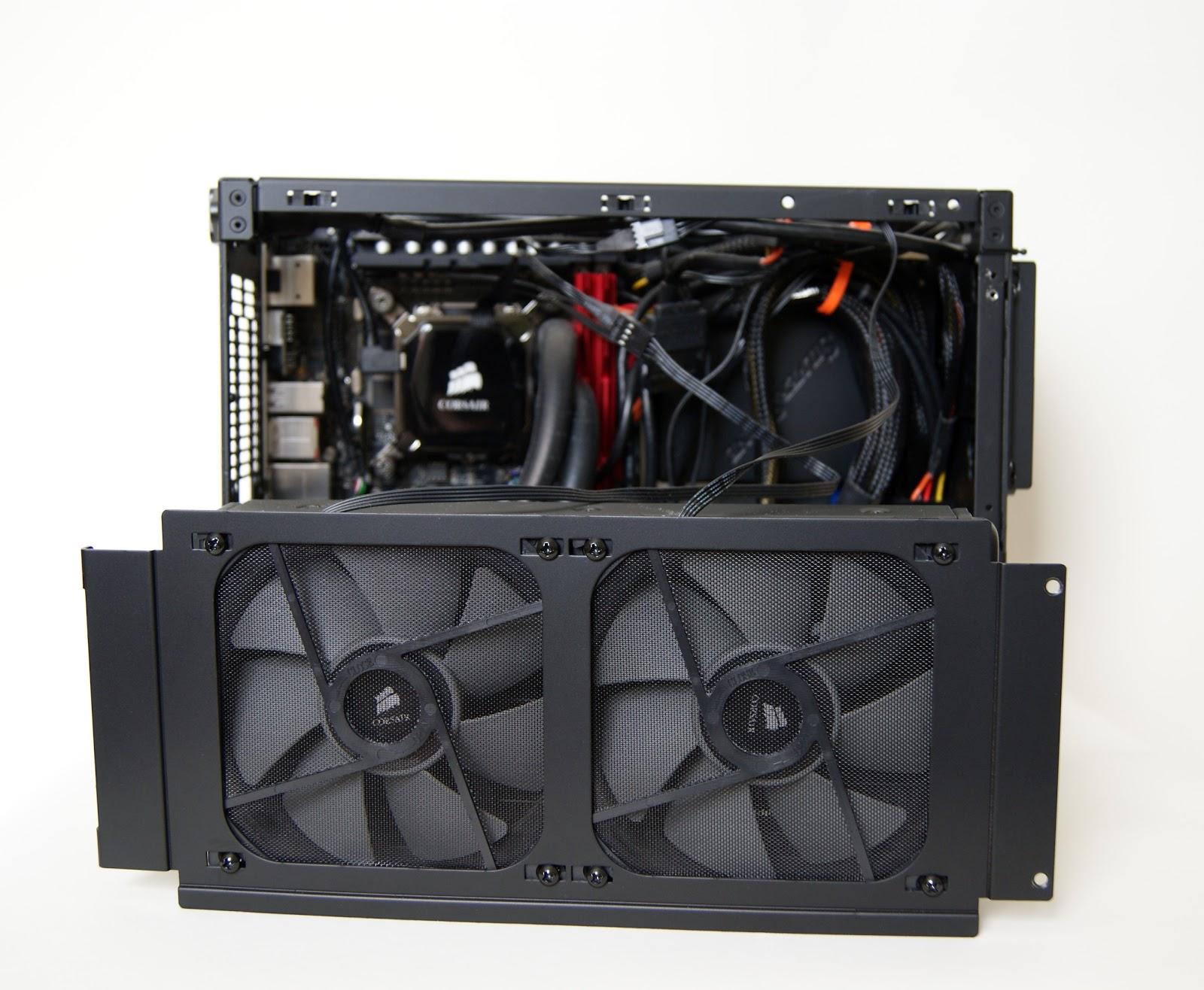 Corsair H100i en Mini-ITX NCASE M1
