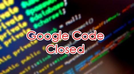 google code closed