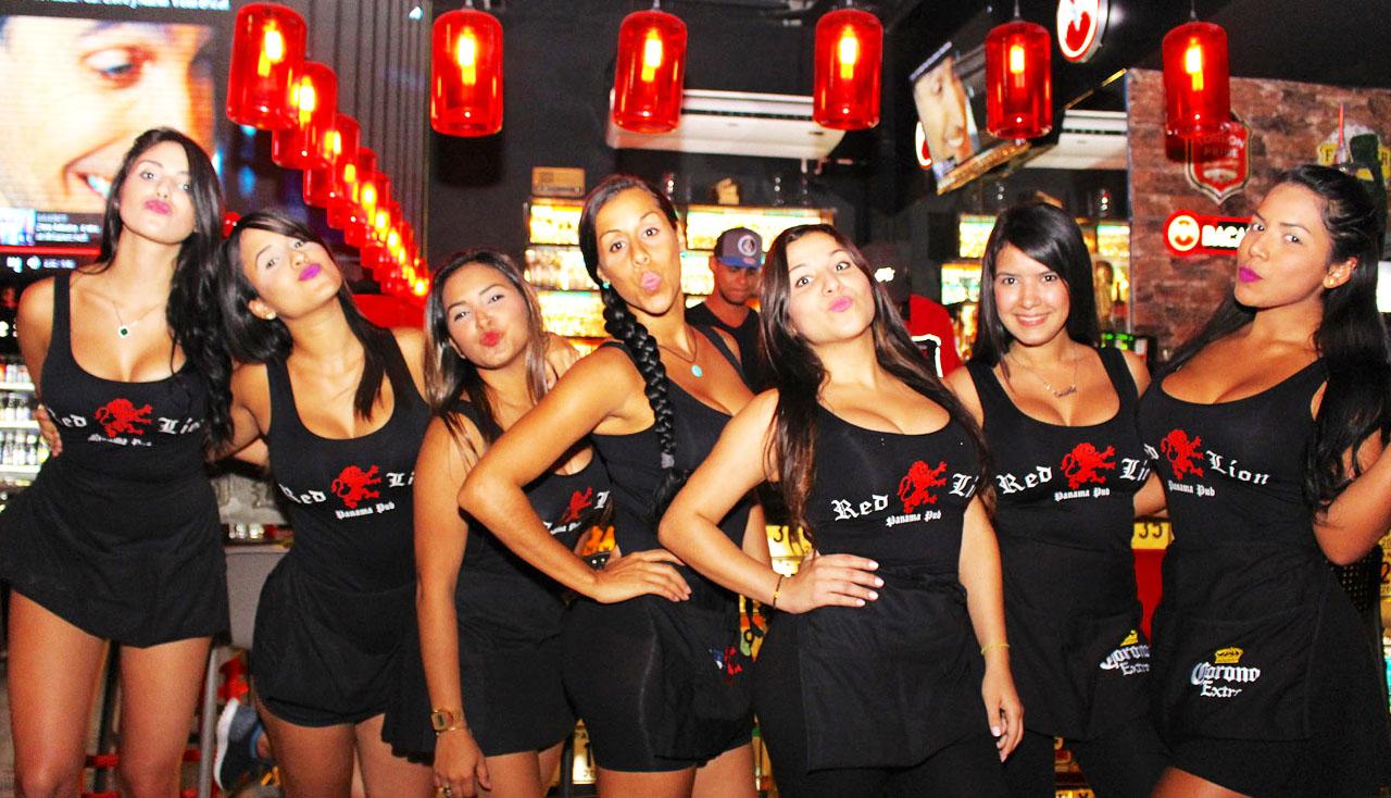 girls pub panama bar crawl route