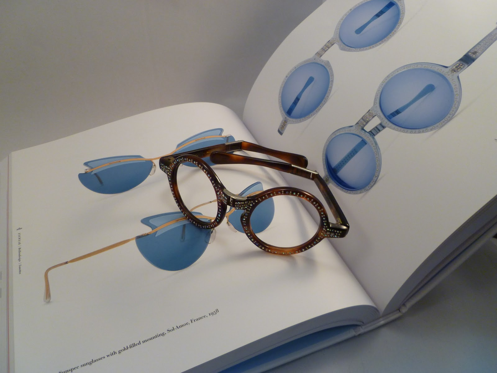 debdce1d8d0e The book is filled with the most exquisite examples of the evolution of  eyewear. The pieces chosen by