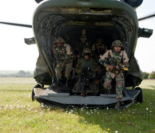 Latihan tentara India Ajeya Warrior Exercise