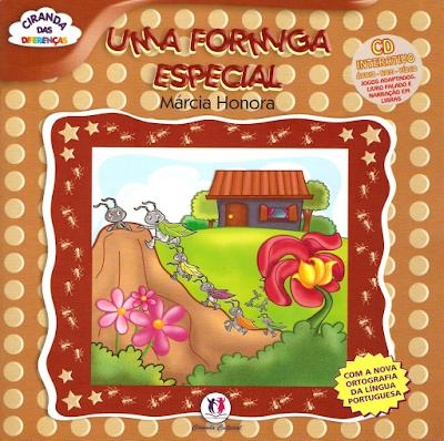 Capa do livro UMA FORMIGA ESPECIAL, de Márcia Honora
