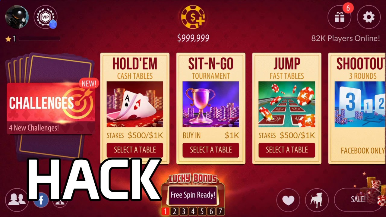Zynga Poker MOD APK - ALL MODS GAME