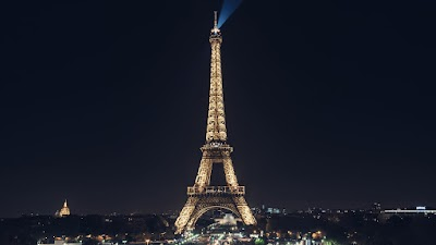 Eiffel Tower looks WOW at Night