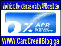 low APR credit card