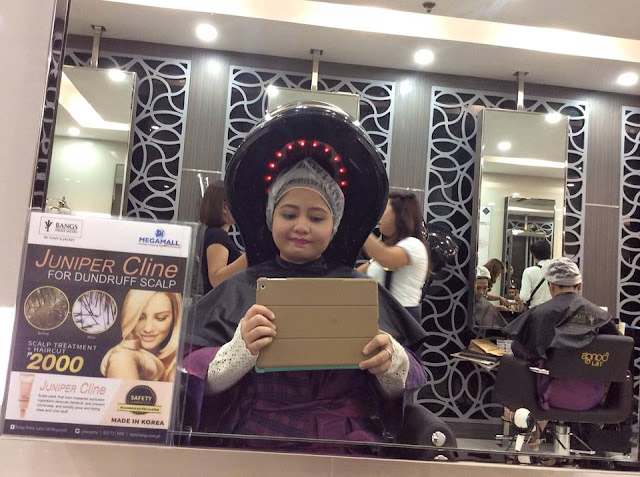 Salon Review: Mucota Treatment in Bangs Prime Megamall!