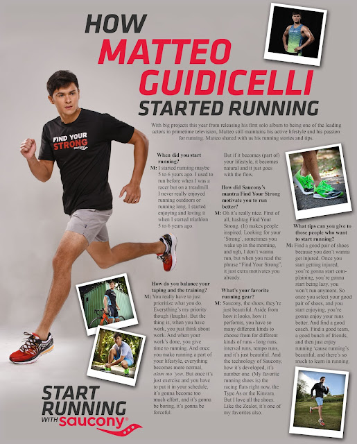 Here's How You Can Get a Chance to Run with Matteo Guidicelli