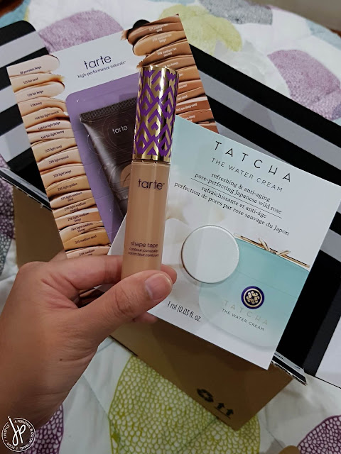 concealer and beauty samples