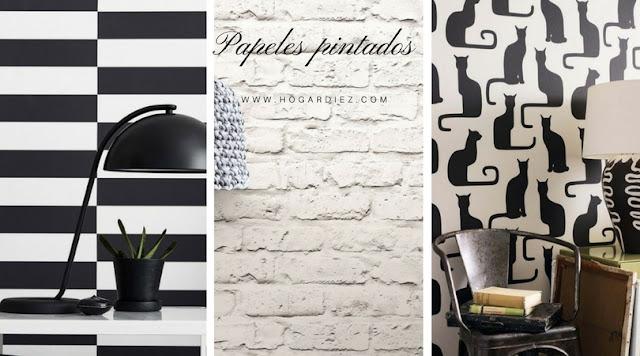 Personaliza tus paredes con papel pintado