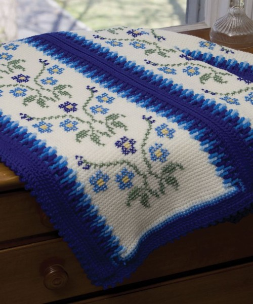Morning Glory Afghan - Free Pattern