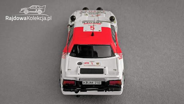 IXO RAC258 Toyota Celica TCT, Safari Rally 1984, B. Waldegard / H. Thorszelius