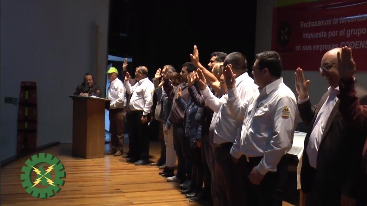 Con éxito terminó la Asamblea Especial de los trabajadores de Codensa.
