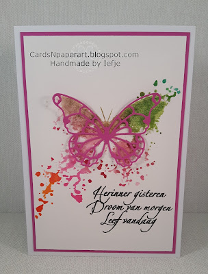Inkognito Butterfly and TH distress ink