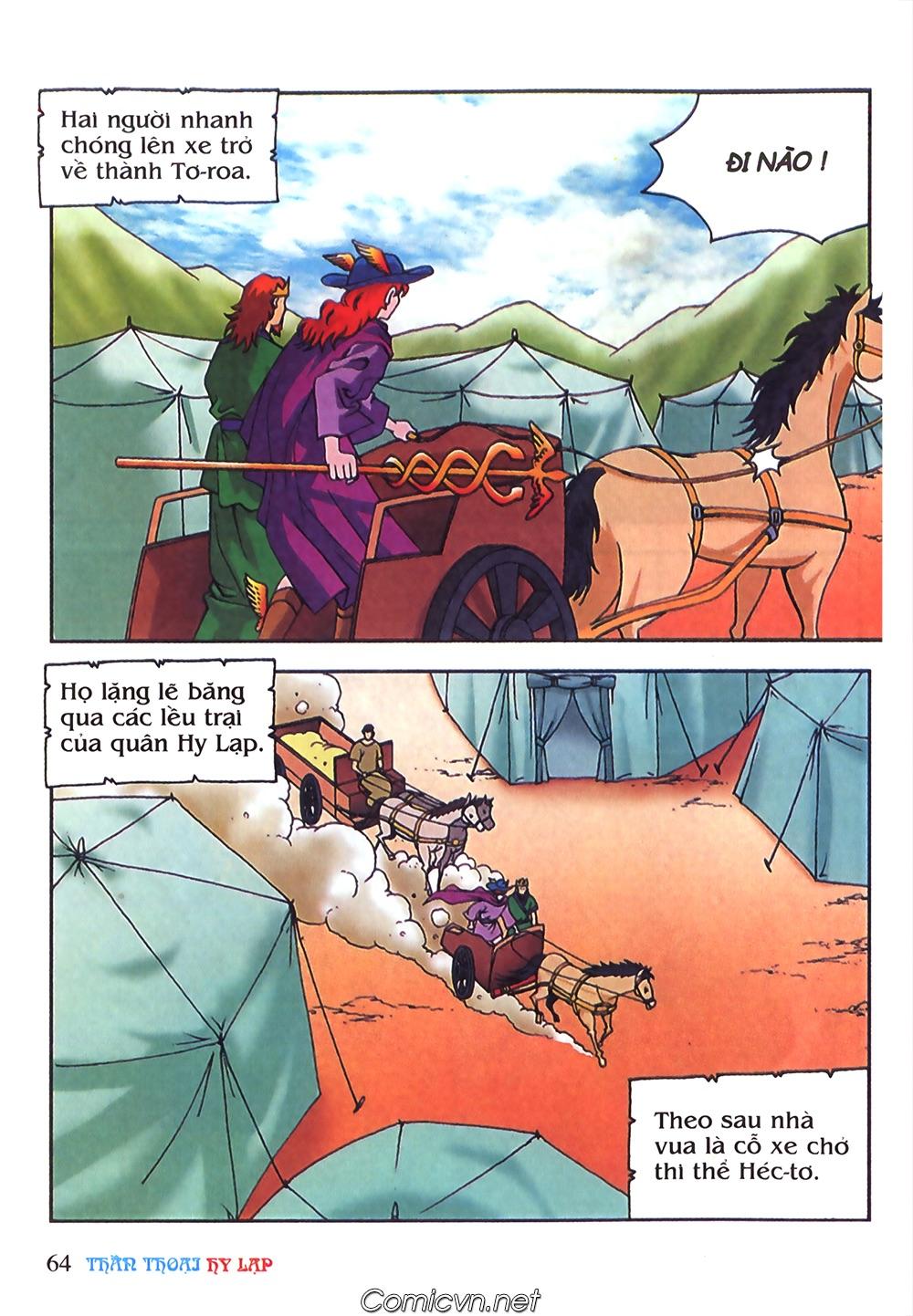 Thần Thoại Hy Lạp Màu - Chapter 63: Lão vương Pri am chuộc xác con - Pic 38