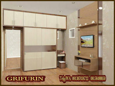 Harga furniture Lemari set Minimalis