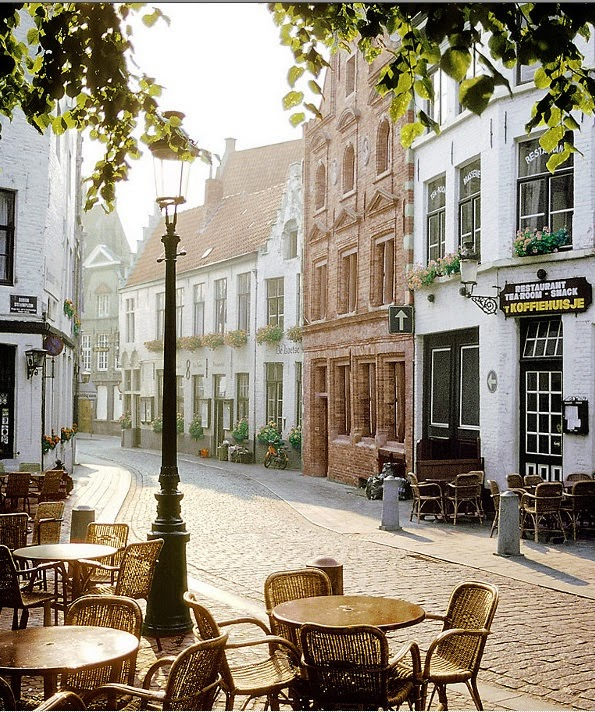 Europe cafe culture