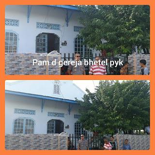 Polsek Kota Payakumbuh Tingkatkan Pengamanan Rumah Ibadah