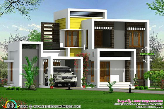 Different style budget contemporary home