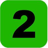 digit 2 icon