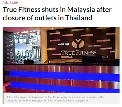 true fitness singapore closing