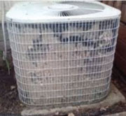 Dirty Condensers Restrict Air Flow