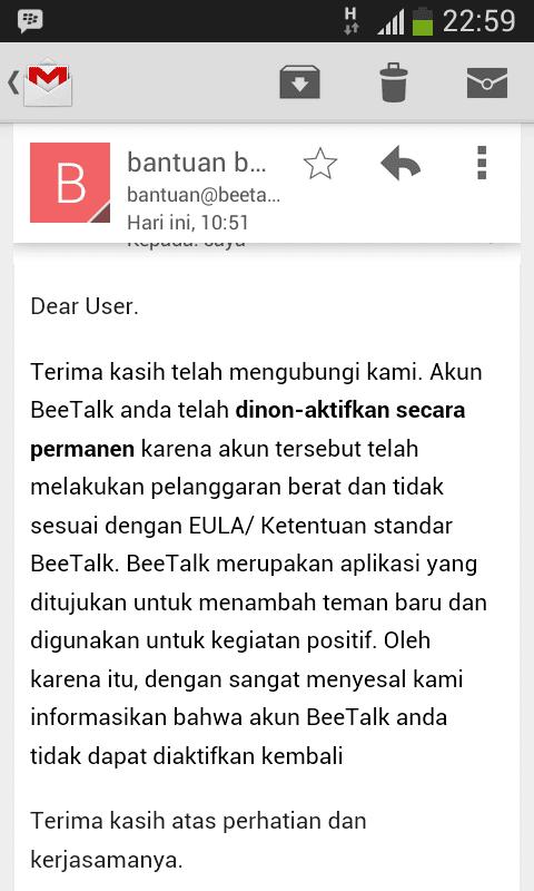 Cara Mengembalikan Akun Beetalk yang di Ban : Update - Nino