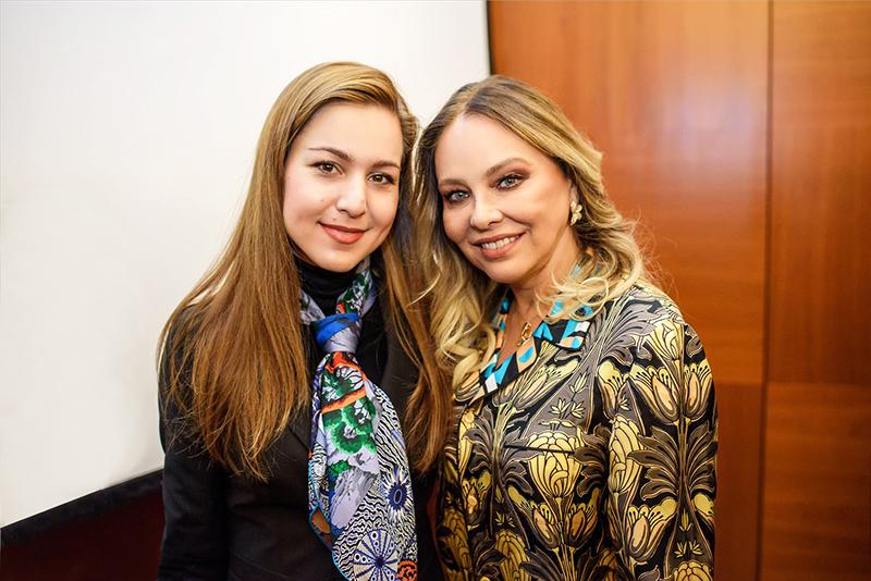 interview Ornella Mutti in Moscow 2017