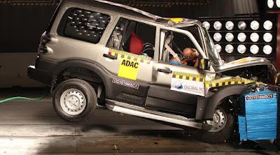 2016 Mahindra Scorpio Global NCAP Crash Test