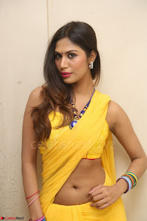 Nishigandha in Yellow backless Strapless Choli and Half Saree Spicy Pics 101.JPG