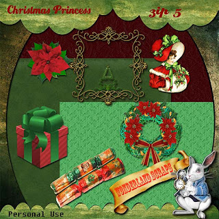 Friday - day 5 of Chrisstmas Princess freebie