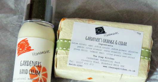 The Soap Kitchen: Gardener's Natural Hand Made Soap & Hand Cream