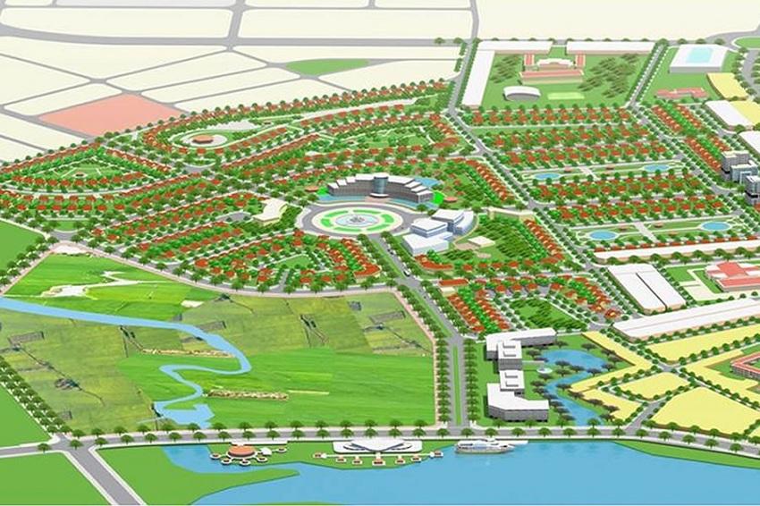 Sơ đô dự án khu dân cư chợ Lai Nghi