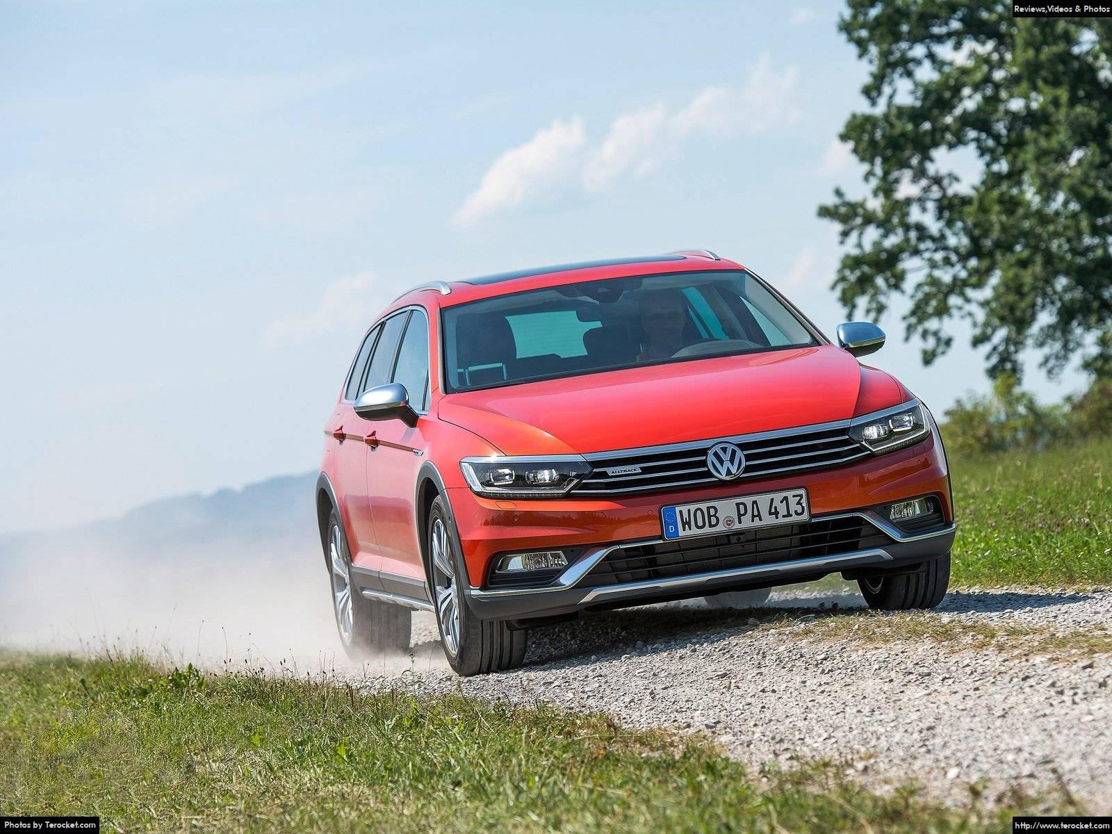 Hình ảnh xe ô tô Volkswagen Passat Alltrack 2016 & nội ngoại thất