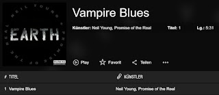 Neil Young - Vampire Blues - EARTH