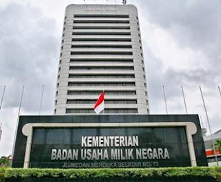 Seleksi CPNS Kementerian Badan Usaha Milik Negara Republik Indonesia 2017
