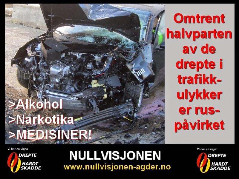 ulykker i trafikken statistikk