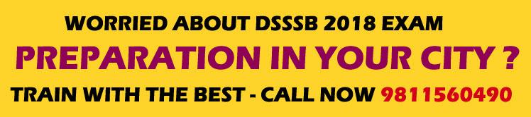 DSSSB Coaching Classes
