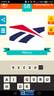 Iconica Italia Pop Logo Quiz soluzione pacchetto 4 livelli 58-75