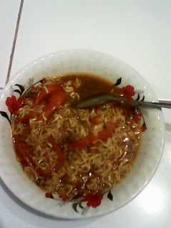 Selera anak kost cita rasa restaurant, Mie Rebus Tumis Tomat