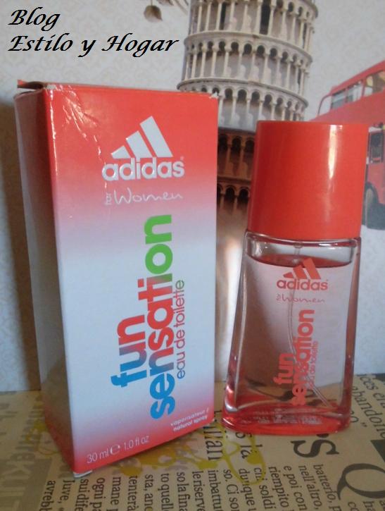 Estilo y hogar: Perfume de mujer: Fun Sensations Adidas.