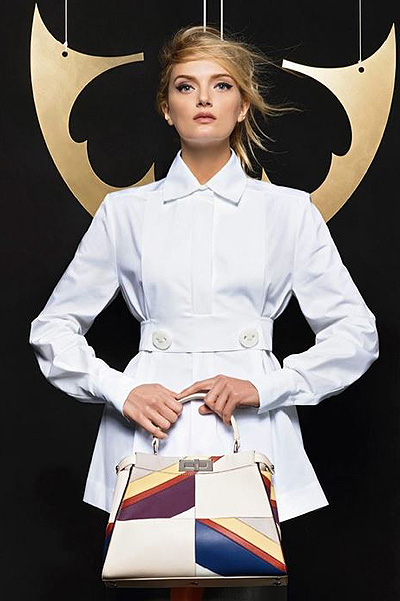 Lily Donaldson for Fendi Fashion photo