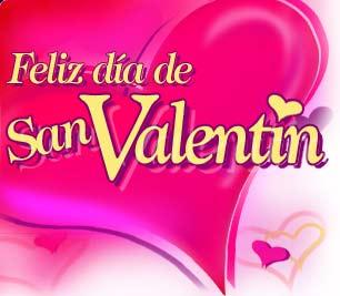 Feliz Dia De San Valentin Amor