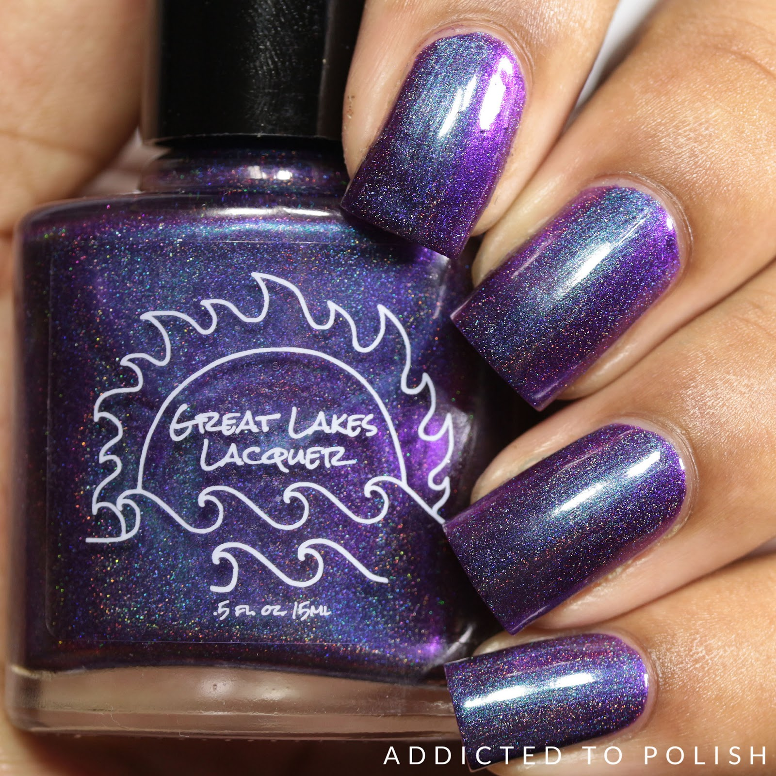 Addicted to Polish: Great Lakes Lacquer Group Customs Swatches and ...