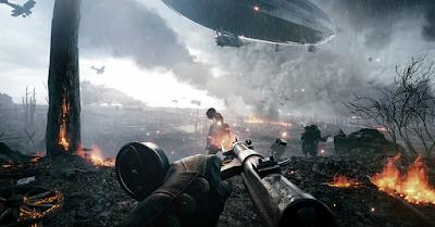 """צפו בבאג מטורף ב-Battlefield 1 שגורם לצפלין להתרסק כמו ב""""סופת טורנדו"""""""