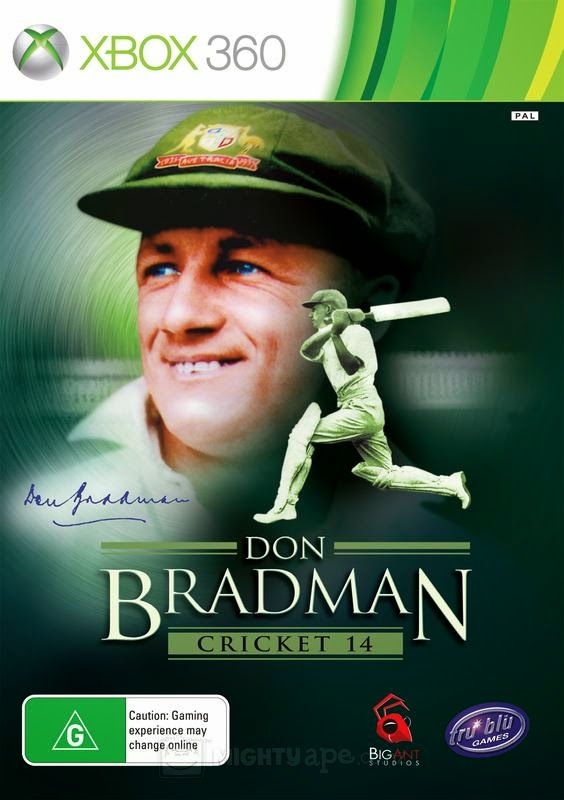 Cover Caratula DOn Bradman Cricket 14 XBOX 360