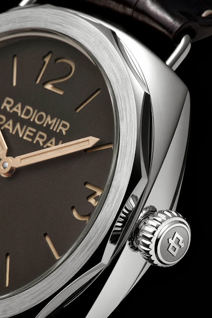 Panerai Radiomir Platino 47mm Watch detail dial