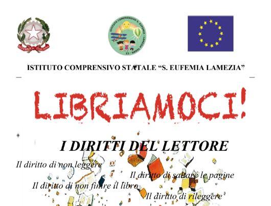 """""""Libriamoci 2o17 """" FLASCH MOB DEGLI STUDENTI di S.EUFEMIA."""