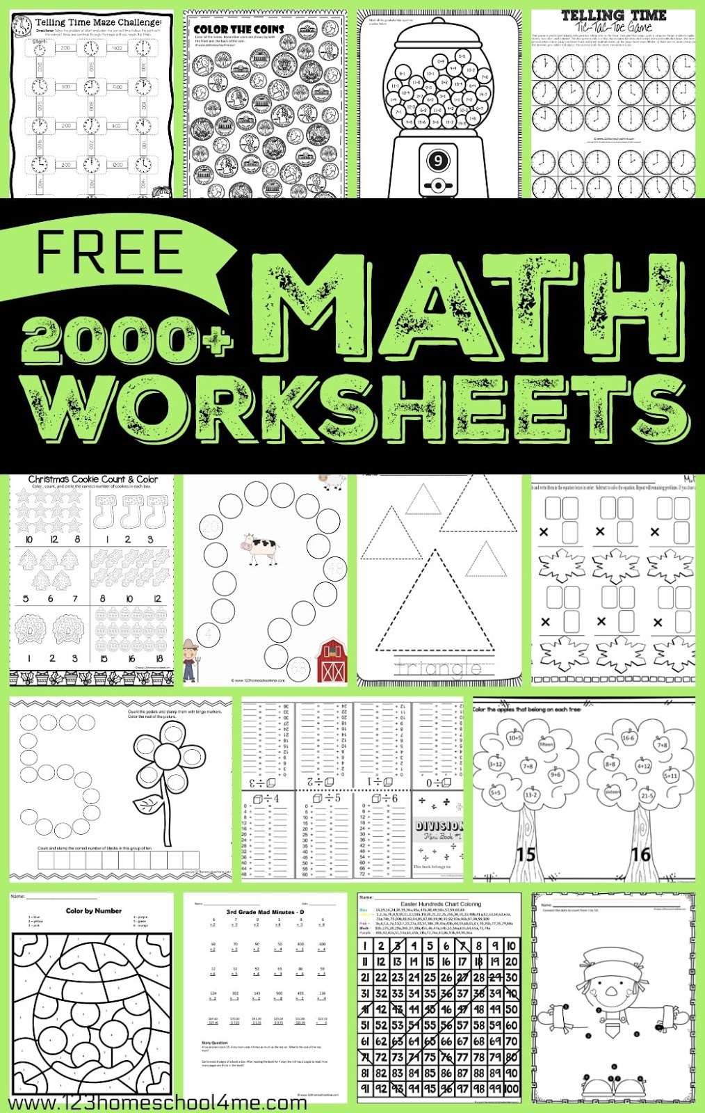 Free math worksheet