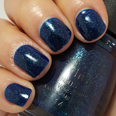 China Glaze Rebel Collection 2016 - Blue Ya | Kat Stays Polished
